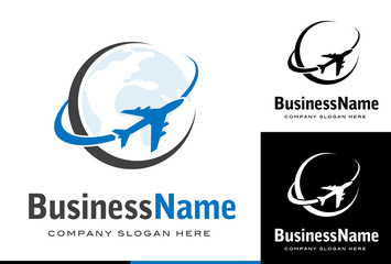 Business logo design avion / transport