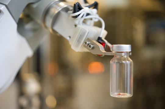 Robot in laboratory