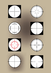 Some crosshairs