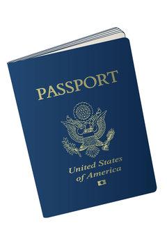 US American Passport  Vector
