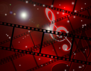 フィルムと音楽