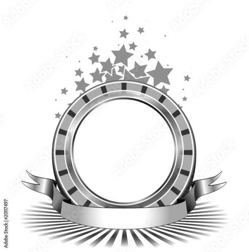 Cornice E Targa Winner Argento Immagini E Vettoriali Royalty Free