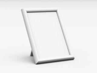 Blanko Tisch-Bilderrahmen