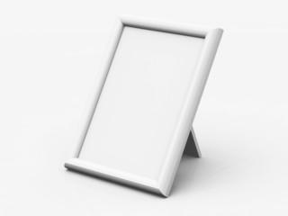 Blanko Tisch-Bilderrahmen - Eckig