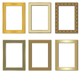 Collection metal photo frameworks 2.