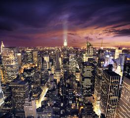 New york skysrcrapers - zakelijke gebouwen achtergrond
