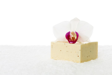 Orchid and soap