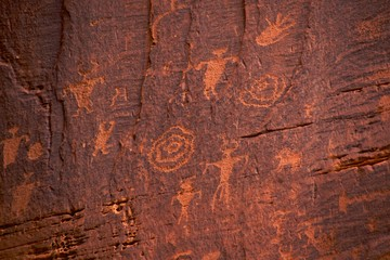 Fremont Indian petroglyphs, Potash Road, near Moab (Arches)