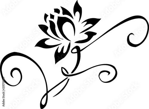 Fiore di loto immagini e vettoriali royalty free su for Fiori stilizzati immagini