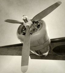 Fototapete - Old propeller