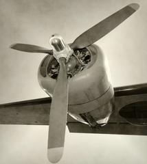 Wall Mural - Old propeller