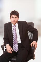 Portrait of a successful business man