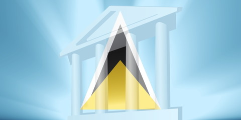 Flag of Saint Lucia government