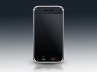 Mobile Device / Smartphone with blank screen