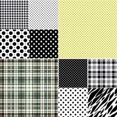 Big set classical seamless patterns
