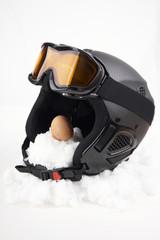 Kopfschutz beim Wintersport