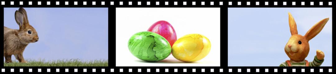 Filmstreifen Ostern