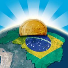 Brazil moneybox