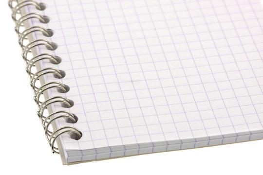 carnet fond blanc