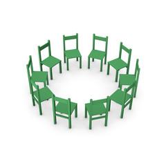 meeting green