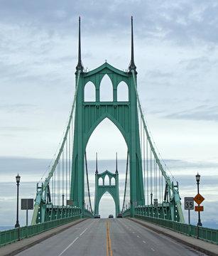 St. Johns Bridge in Portland, Oregon