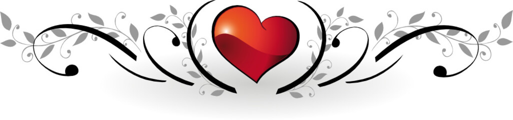 Valentinstag, Valentin, Herz, Herzen, Liebe, floral, love