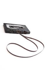 banged up cassette