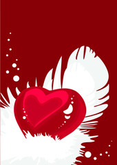 Heart's background