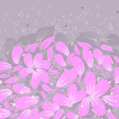 background petals