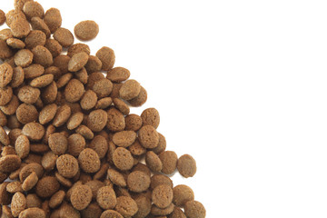 texture of dog or cat food