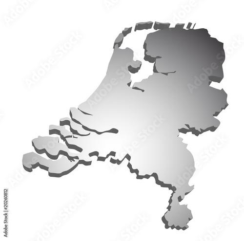 Niederlande Karte Umriss.Niederlande Holland 3d Karte Stockfotos Und Lizenzfreie Vektoren