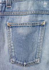 Full frame of jeans