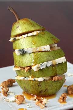 Pear with Gorgonzola
