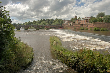 River Dee at Chester Wall mural