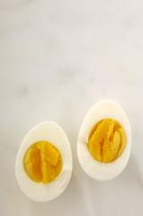 Halbe Eier