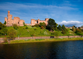 Castle on the hill Scotland