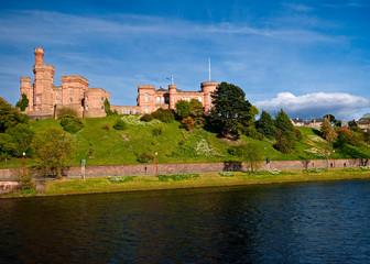 Castle on the hill Scotland