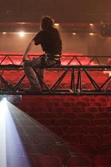 technicien structure spectacle intermittent salle poutre