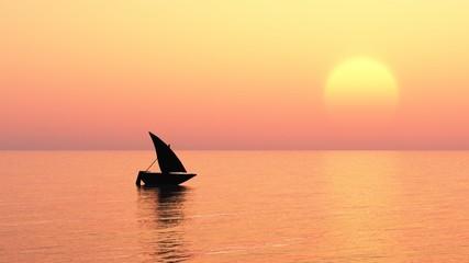 Romantisch segeln