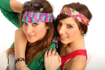 Hippie-Freundinnen