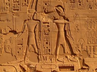 Wandmalerei ( Karnak )