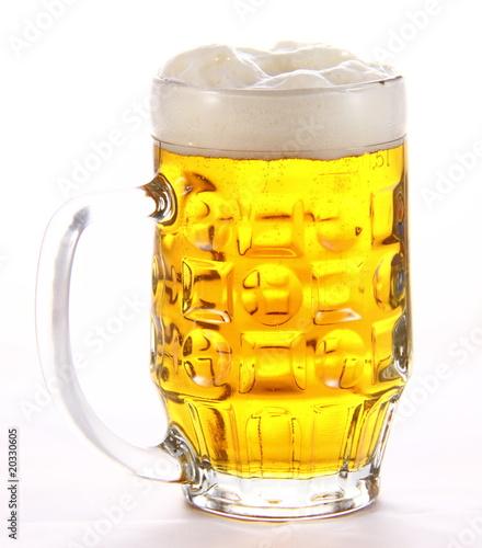 Chope de bi re photo libre de droits sur la banque d 39 images image 20330605 - Chope de biere 1l ...