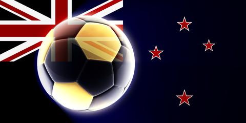 Flag of Tokelau soccer