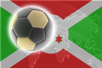 Flag of Burundi soccer