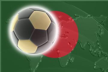 Flag of Bangladesh soccer