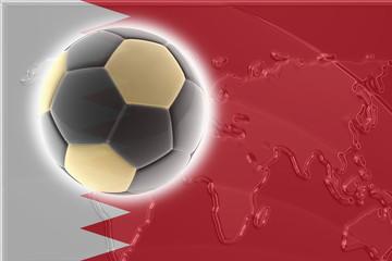 Flag of Bahrain soccer