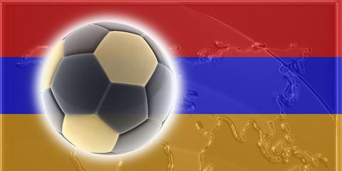 Armenia flag soccer