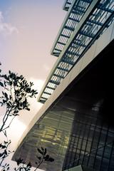 architectural details corporate building