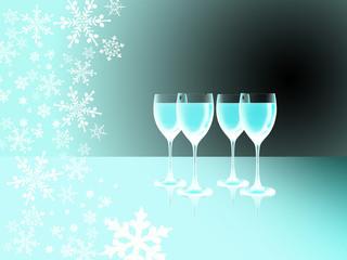 Weintrinken im Winterurlaub