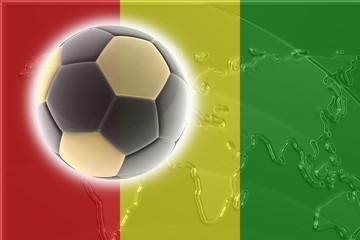 Flag of Guinea soccer